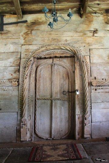 Biserica de lemn de la Leleasca, Olt