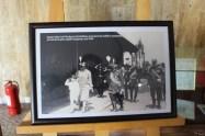 Regele Mihai la Mogoșoaia în inspecție