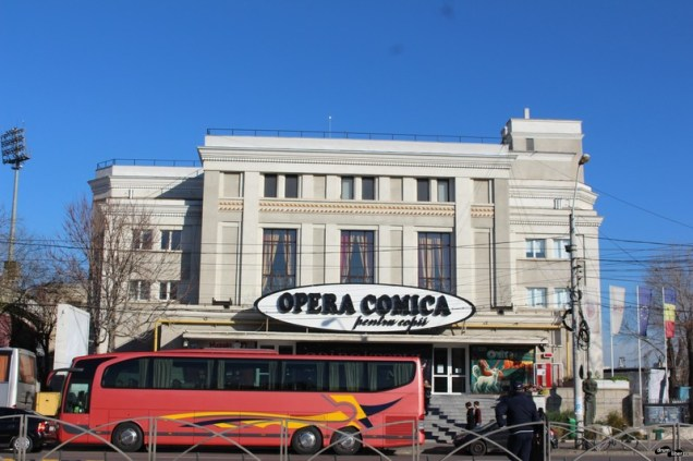 Teatrul Giulești azi Opera Comică pentru Copii