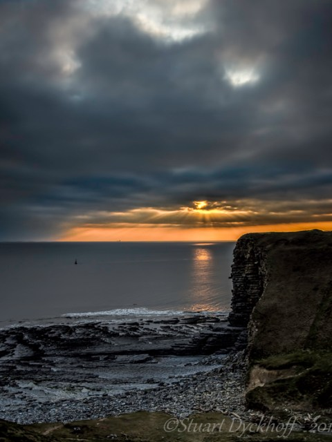 Nash Point Sunset
