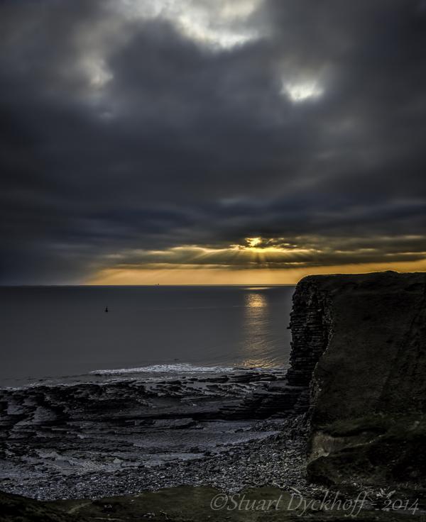 Nash Point Sunset