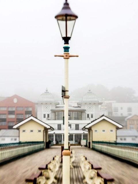 Penarth Pier a la Lensbaby