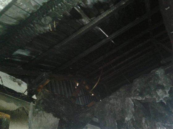 У Кам'янці-Бузькій горіло кафе (фото)