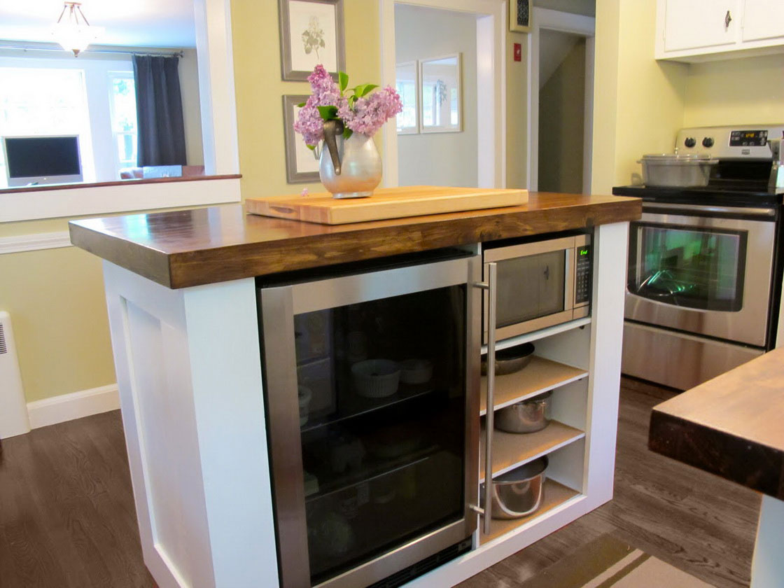 Kitchen Island Ideas For Small Kitchens Spaces Earlyexperts