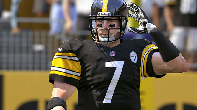 Madden 17 Player Portrait-Ben Roethlisberger