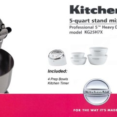 Costco Kitchen Aid Unfinished Cabinets Kitchenaid® 5-quart Bowl-lift Stand Mixer Professional 5 ...