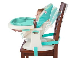 bright starts high chair s shaped dining chairs playful pals top 3 position seat recline