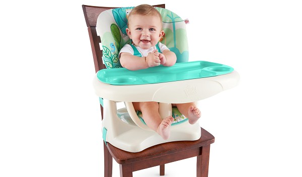 toddler chair with tray oka dining room covers bright starts™ playful pals™ top high