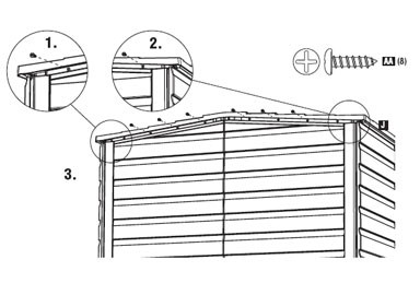 Rubbermaid® Small Storage Shed