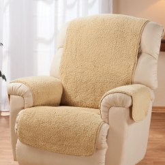 Chair Design For Back Pain Best Big And Tall Beach Sherpa Recliner Protector By Oakridge - Easy Comforts