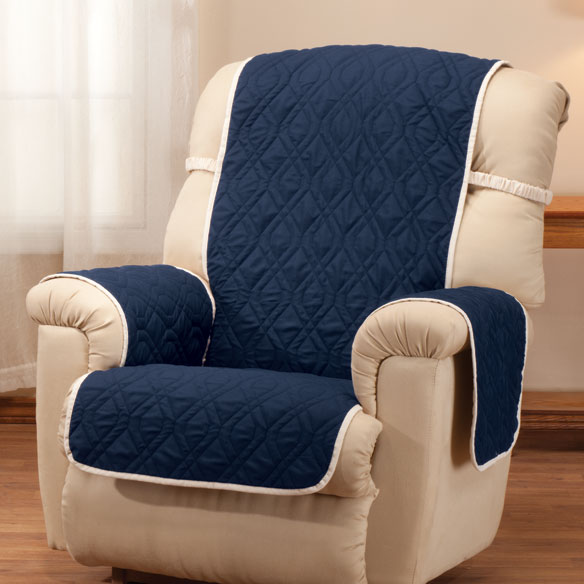 chair covers waterproof hooker leather deluxe reversible recliner cover easy comforts view 4