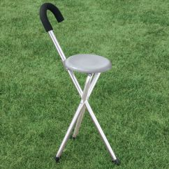 Walking Cane Chair Sudden Comfort Folding Chairs Seat With Easy Comforts