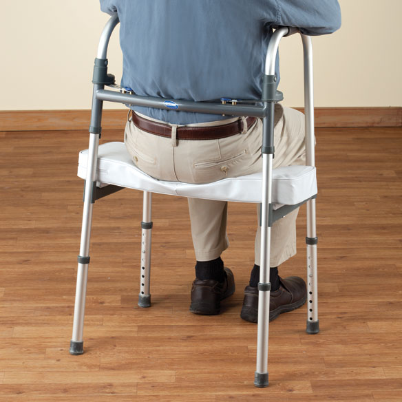 Walker Rest Seat - Walker Seat Attachment - Easy Comforts