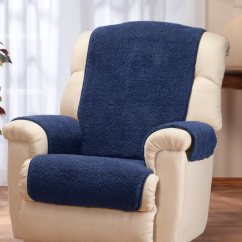 Plastic Chair Covers For Recliners Med Lift Sherpa Recliner Protector By Oakridge Easy Comforts View 1