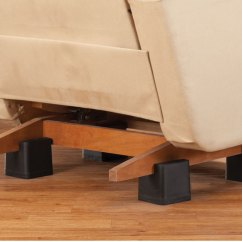 Recliner Chair Height Risers Sure Fit Covers Bed Bath And Beyond Risers, Set Of 4 - Furniture Lifts Raisers Easy Comforts