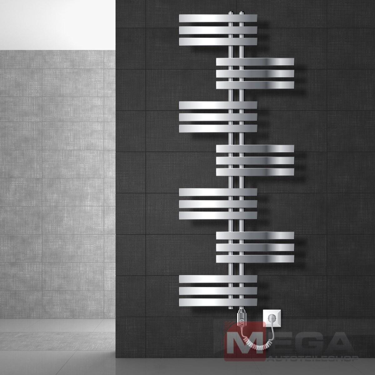 Design Heizkrper Heizung Badezimmer Badheizkrper Handtuchwrmer Mittelanschlu  eBay