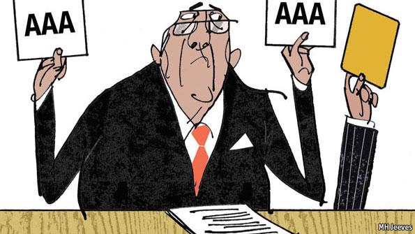 Agenzie di rating, dall'Economist