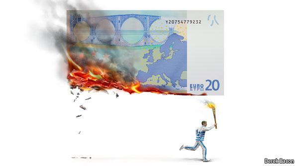 The Economist Crisi Grecia Andrea Silenzi