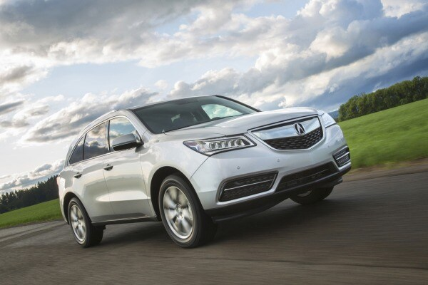 2014 Acura MDX - Action Front 3/4 - 2