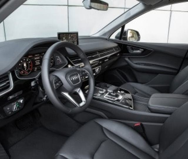Audi Qdr Suv Interior Shown