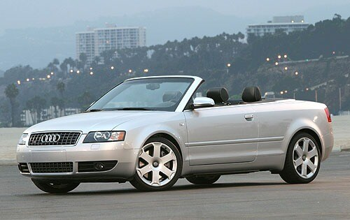 Used 2004 Audi S4 Convertible Pricing For Sale Edmunds