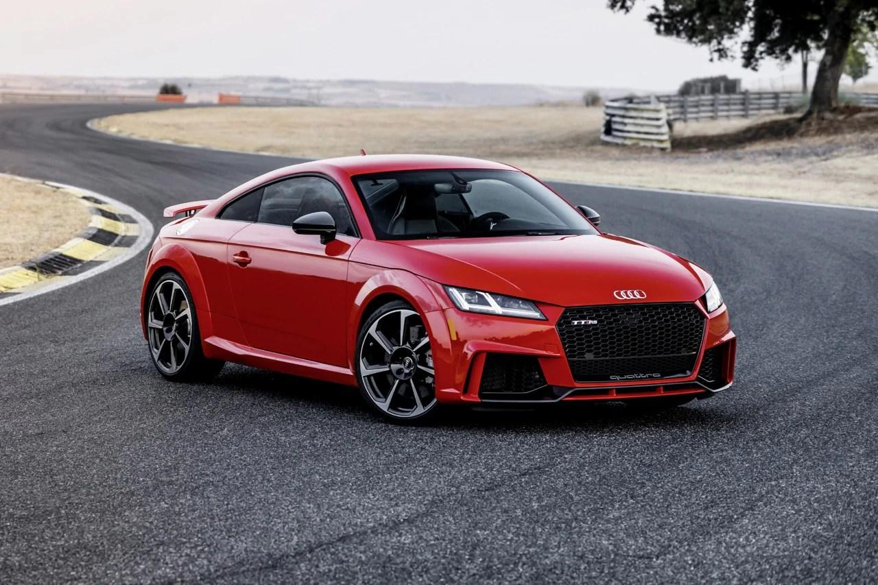 2018 Audi Tt Rs Pricing  For Sale Edmunds