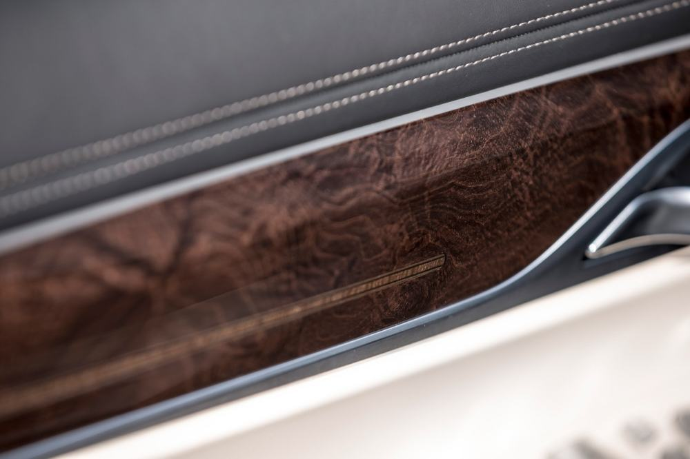 medium resolution of bmw reserves its finest materials for the 7 series including loads of high end wood and leather trim
