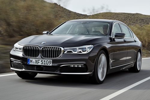 small resolution of a stretched wheelbase comes standard on the 2017 bmw 7 series but the sleek styling does an admirable job of hiding it