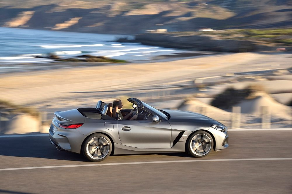 medium resolution of the latest form of drop top escapism can be found with the all new 2019 bmw z4