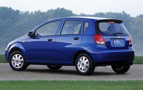 Used 2004 Chevrolet Aveo Hatchback Pricing  For Sale