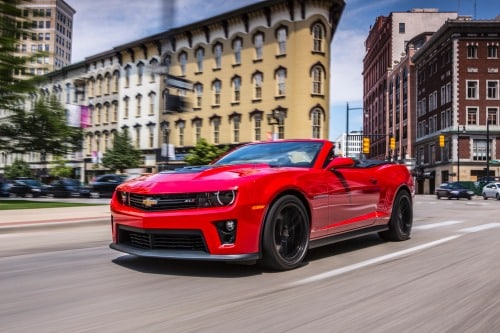Used 2013 Chevrolet Camaro Zl1 Zl1 Review Ratings Edmunds