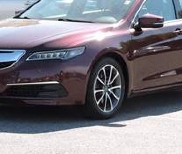 Acura Tlx Sh Awd W Technology Package In Dark Red