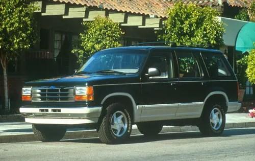 Used 1992 Ford Explorer Pricing For Sale Edmunds