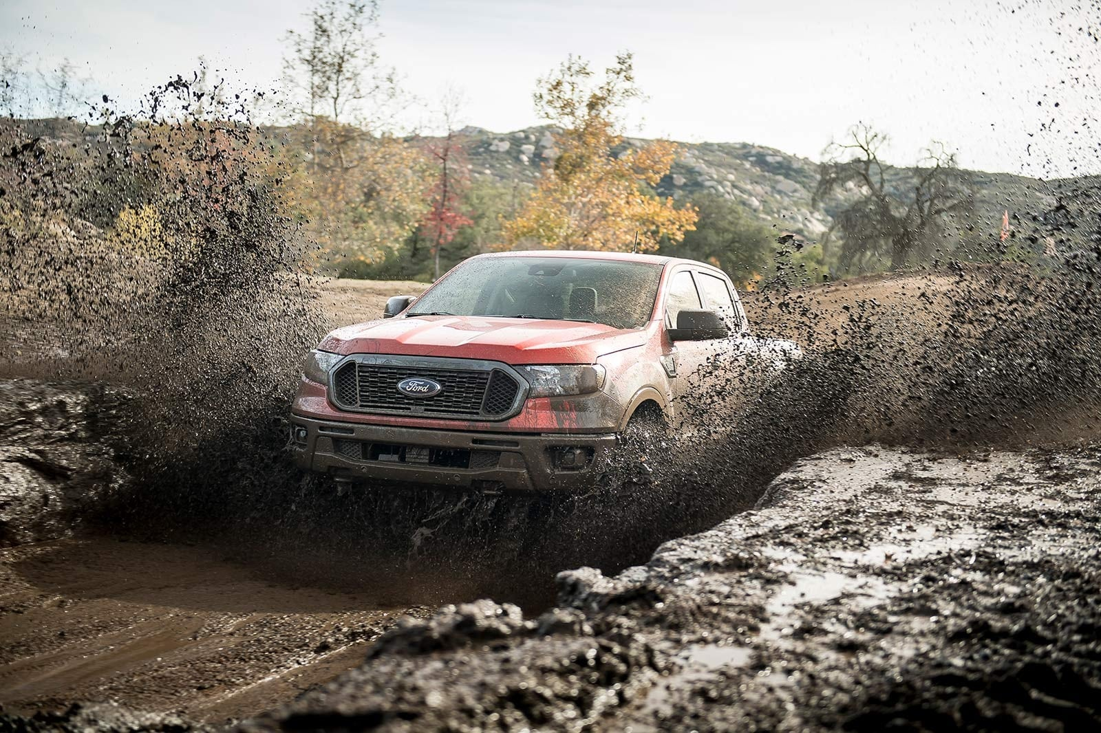 hight resolution of on the road the ranger rides smoothly over cracked surfaces but at speed it tends to feel springy and underdamped over larger dips and swales in the