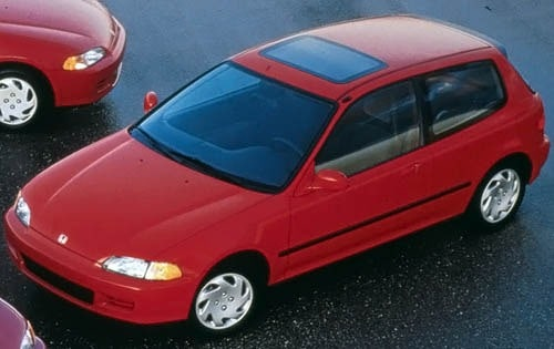 Used 1995 Honda Civic Pricing Amp Features Edmunds