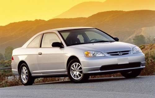 Used 2003 Honda Civic Coupe Pricing For Sale Edmunds