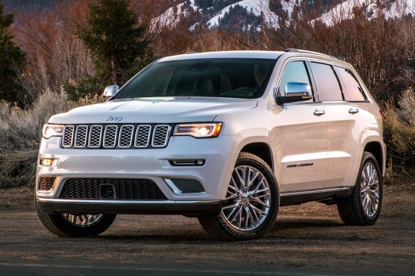 2017 Jeep Grand Cherokee Summit 4dr SUV Exterior Shown