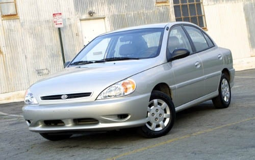 Used 2002 Kia Rio Pricing For Sale Edmunds