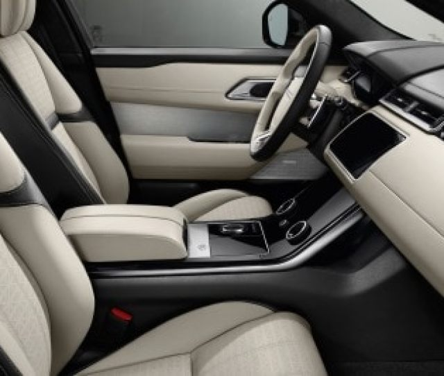 Land Rover Range Rover Velar First Edition Dr Suv Interior Shown