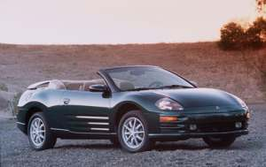 Used 2001 Mitsubishi Eclipse Spyder Pricing  For Sale