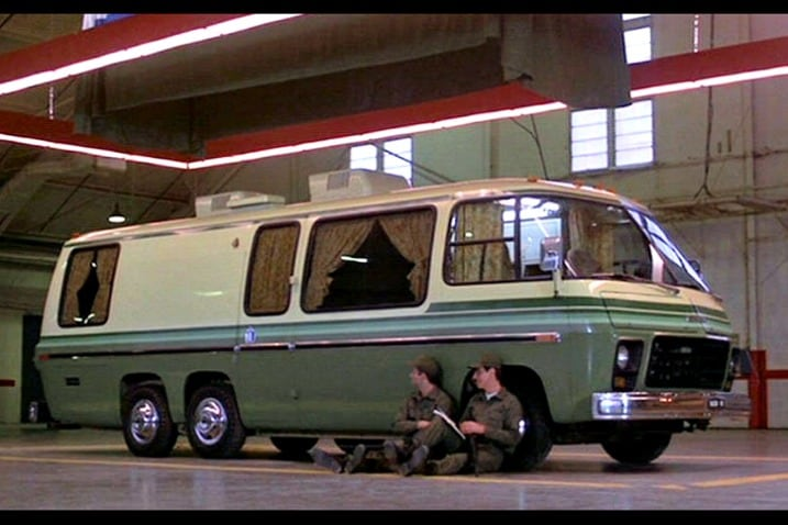 The 100 Greatest Movie and TV Cars - Stripes EM-50 Urban Assault Vehicle
