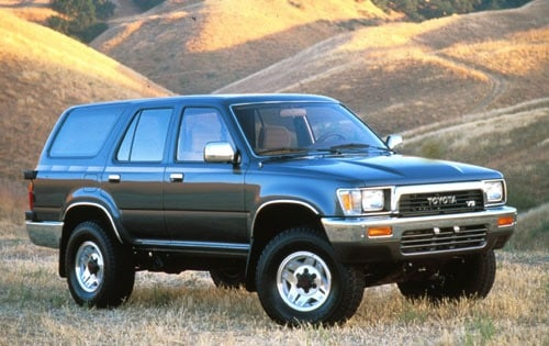 used 1991 toyota 4runner suv pricing - for sale edmunds - 2010 rogue fuse  box