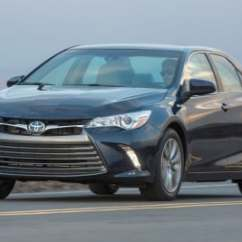 All New Camry Hybrid Review Avanza Grand Veloz Bekas 2016 Toyota Sedan Edmunds Xle Exterior Shown