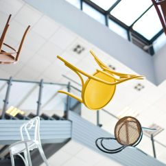 Classroom Organizer Chair Covers For Standing Desk Flexible Classrooms Assembly Required Edutopia Chairs Are Floating In The Air Inside Of A Building