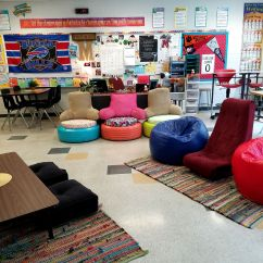 Philosophical Chairs Topics Pink Glider Chair Reflections On Shifting To A Flexible Classroom Edutopia