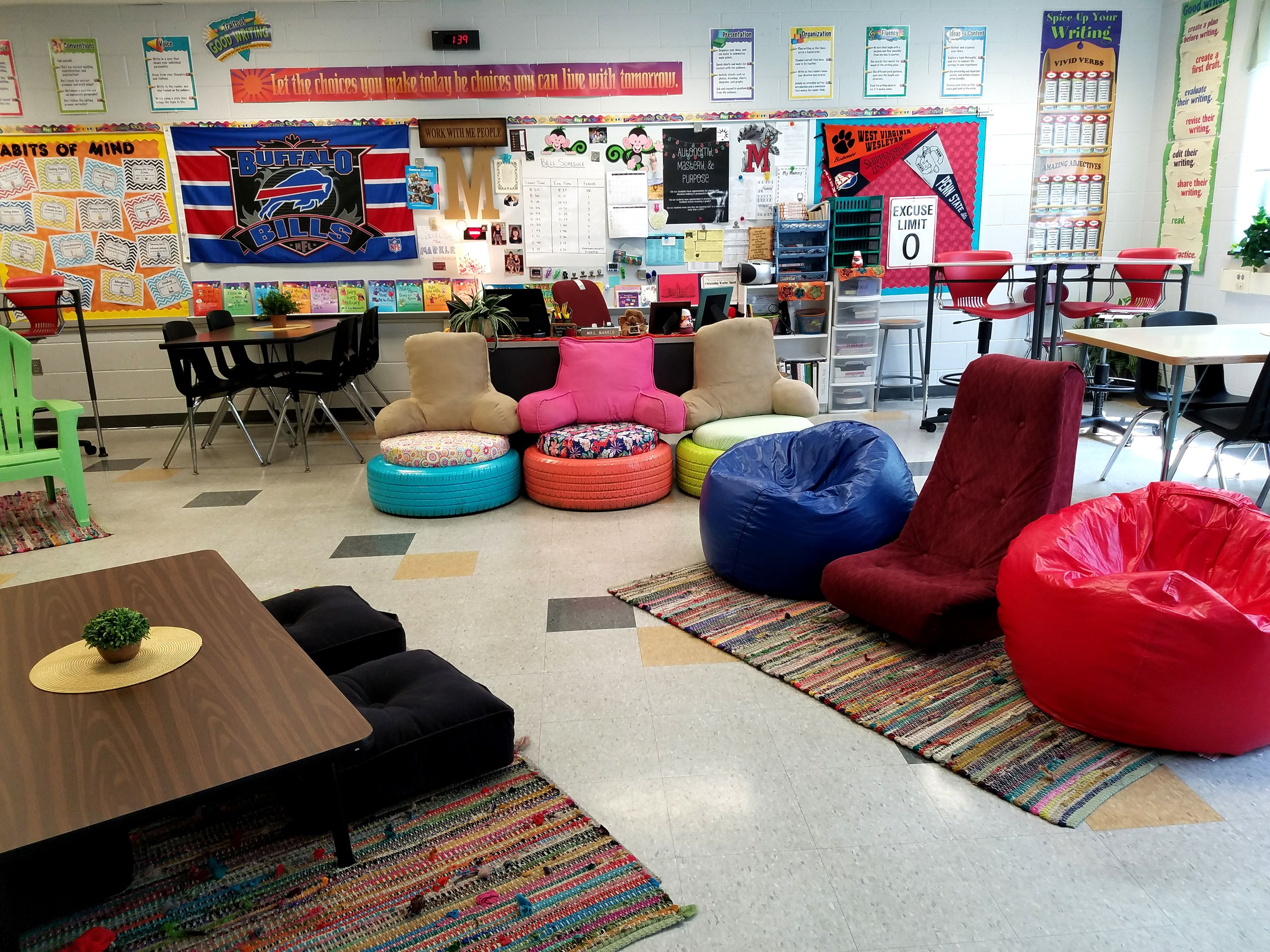 Flex Chairs Reflections On Shifting To A Flexible Classroom Edutopia