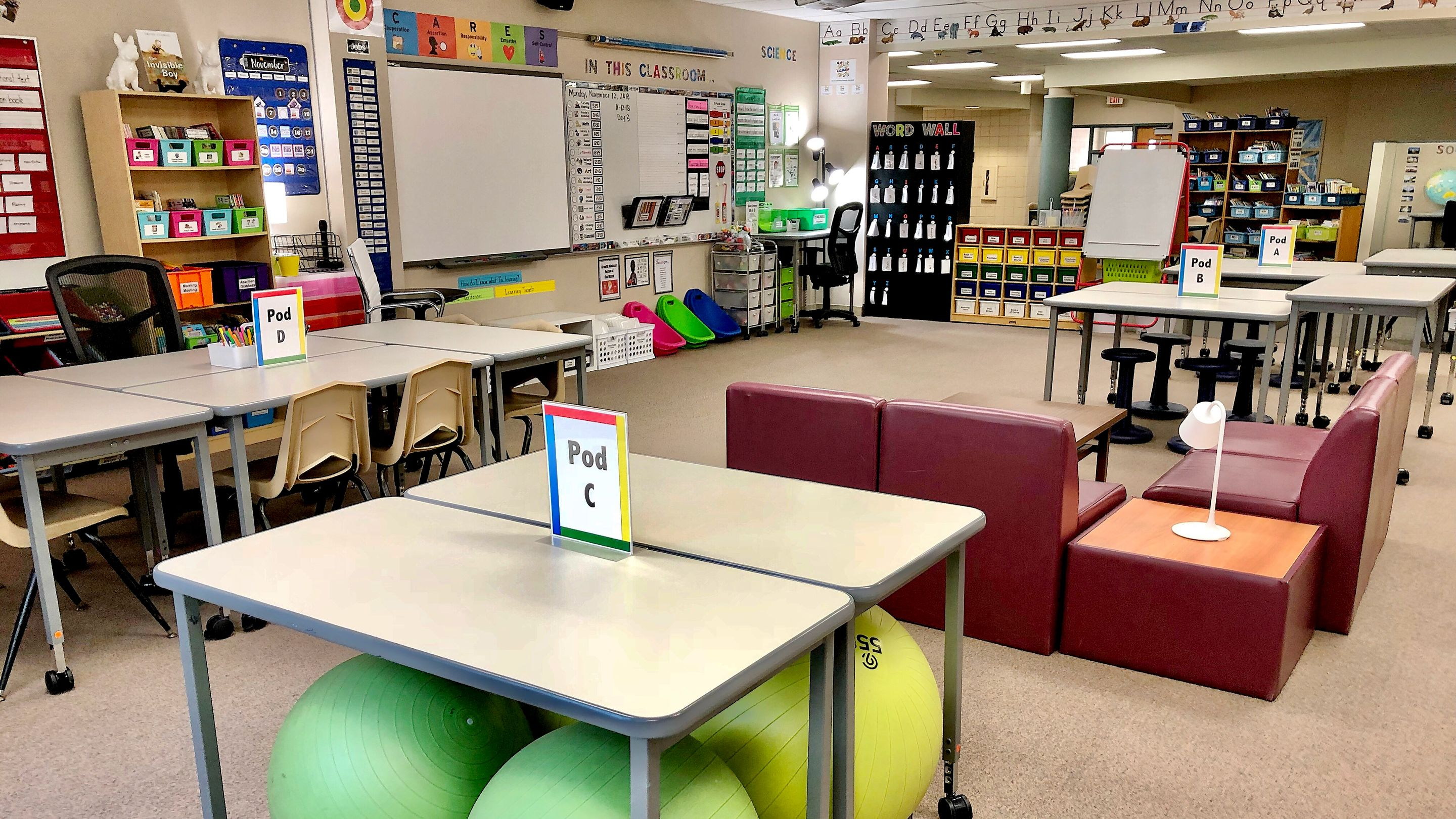 Designing Flexible Seating With Elementary School Students