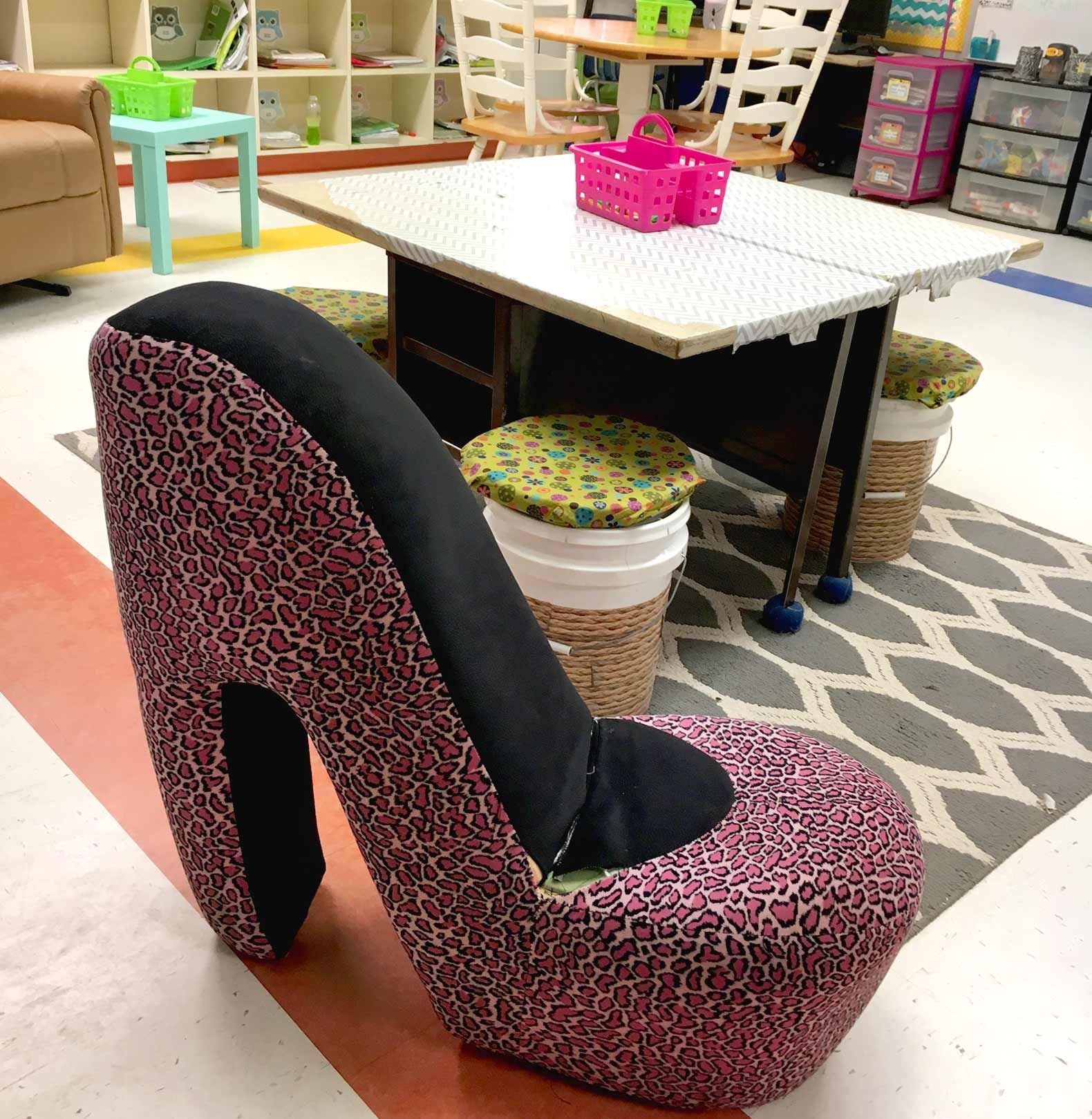 shoe shaped chair tufted vanity with back 7 outstanding k8 flexible classrooms edutopia
