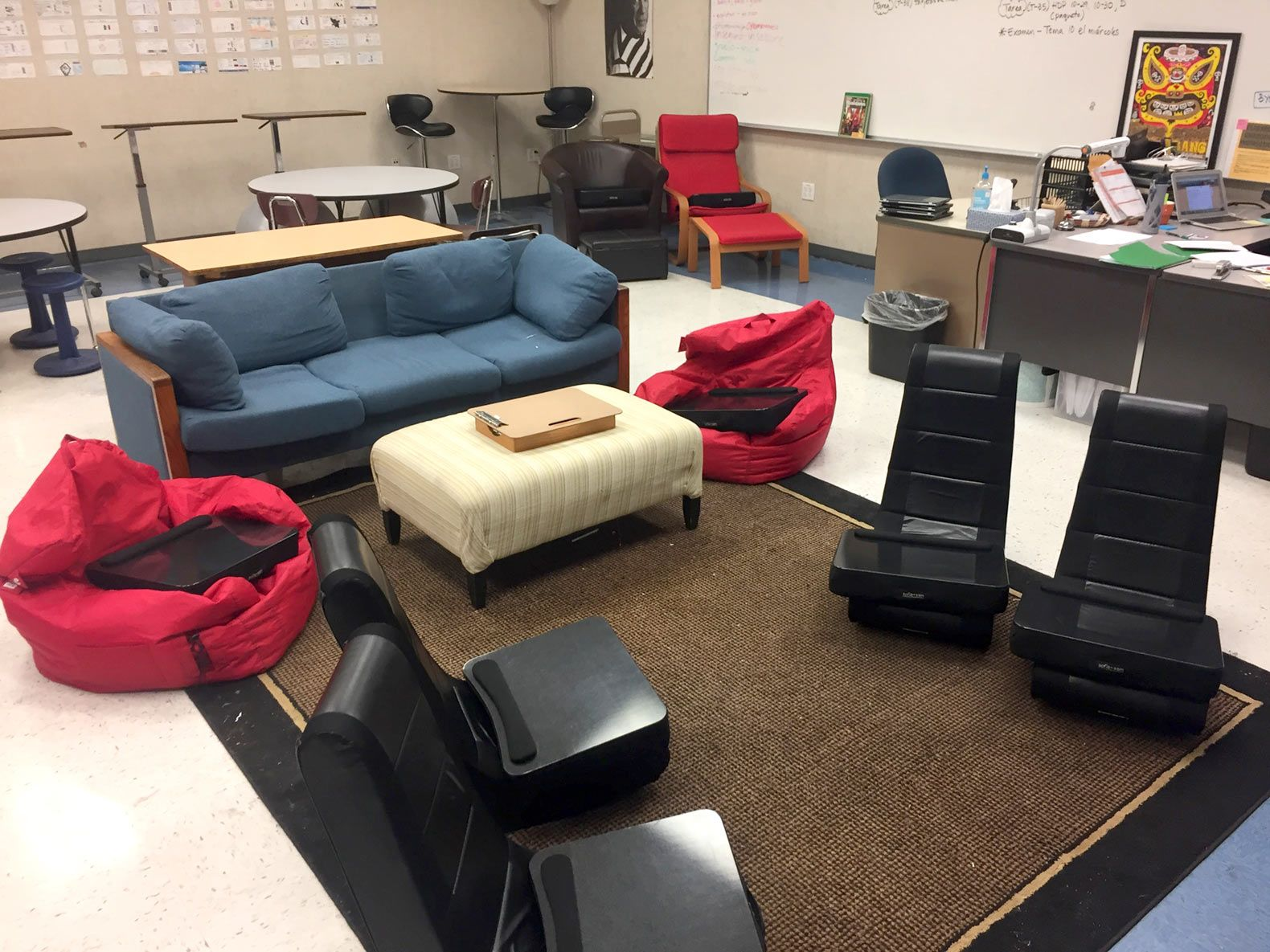 Flex Chairs High School Flexible Seating Done Right Edutopia