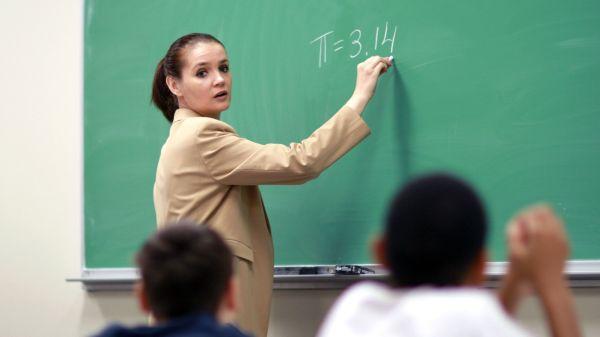 Teacher Teaching Class